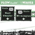 "SA028: Plow United//The Headies ""split"" 7"" EP"